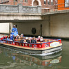 San Antonio Riverwalk, tour boat on river