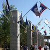 Mt Rushmore Avenue of Flags 1