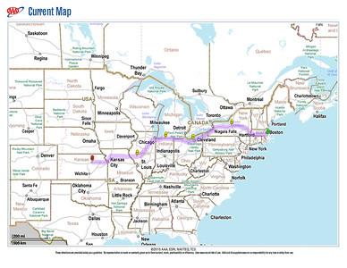 RVing 2011 Sept Boston to Junction City