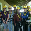 Zipline tour group-before the terror