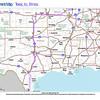 Trip Map 2012 Texas to Illinois