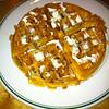 Banana Pecan Waffle