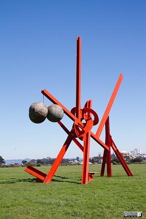 Mark di Suvero at Crissy Field (San Francisco)