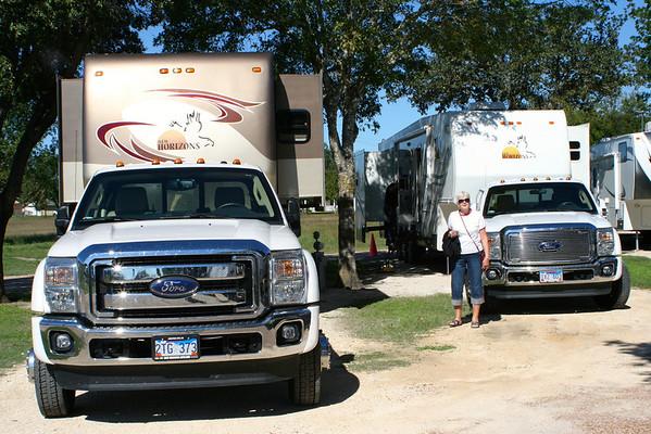 RVing 2013 Fall Schulenburg TX