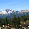 Pikes Peak from Woodland Park