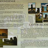 Stonehenge and Easter Island