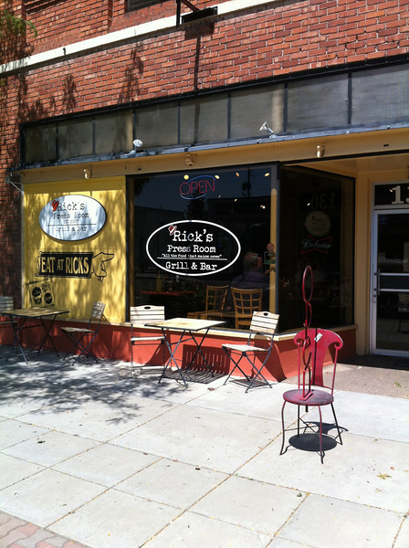 Boise DDD Ricks Press Room