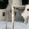 Spruce Tree House-ladder down into Kiva
