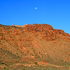 Moon set over Bridger Jack Mesa