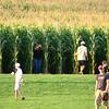 selfie in the corn field