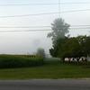 Spaceship in the mist