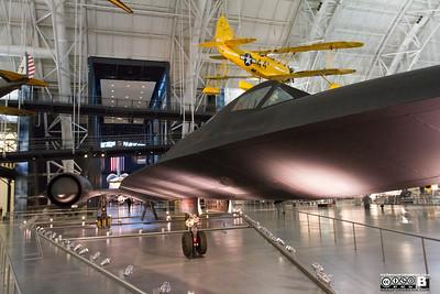 Closeup of Lockheed SR-71 Blackbird
