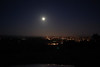 Full Moon over Santa Cruz, California<br /> October 15, 2009