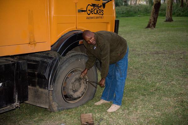 _DSC5568e Flat Tire on Truck