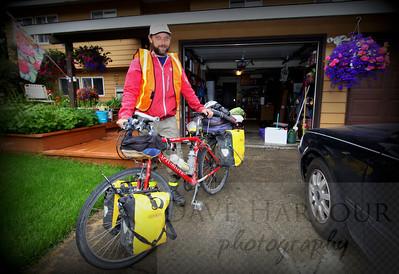 Josh Peterson, long distance bike rider, PhD, Nuclear Physics