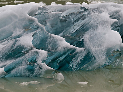 Glacial Ice, South Sawyer Glacier Copyright 2009 Neil Stahl