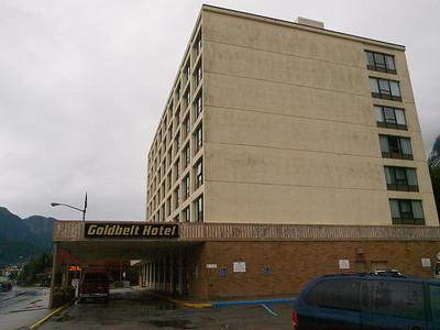 Our Juneau hotel Copyright 2009 Neil Stahl