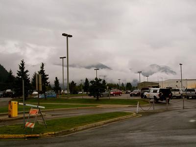 We're not in Kansas!  Juneau airport. Copyright 2009 Neil Stahl