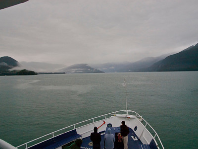 Heading into Tracy Arm Copyright 2009 Neil Stahl