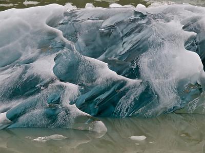 Glacial Ice, South Sawyer Glacier Copyright 2009 Neil Stahl