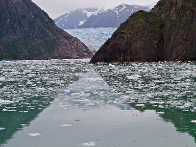 South Sawyer Glacier 1 Copyright 2009 Neil Stahl