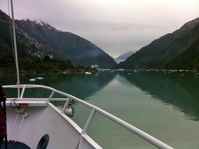 Glacier in sight! Copyright 2009 Neil Stahl