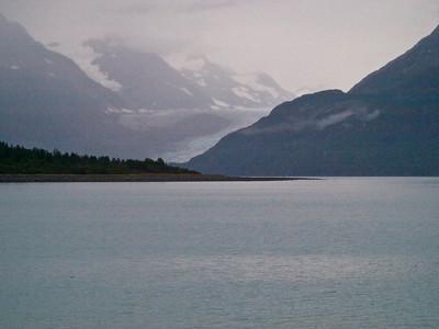 A glacier at Glacier Bay NP Copyright 2009 Neil Stahl