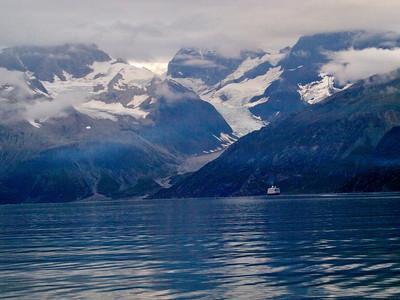 Tourists in Glacier  Bay Copyright 2009 Neil Stahl