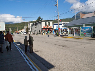 The streets of Skagway Copyright 2009 Neil Stahl