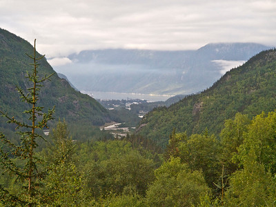Skagway  from above Copyright 2009 Neil Stahl