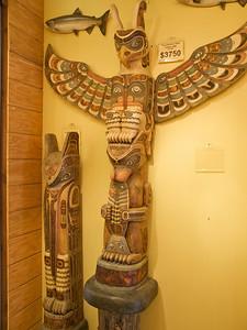 Wanna buy a totem pole? Copyright 2009 Neil Stahl