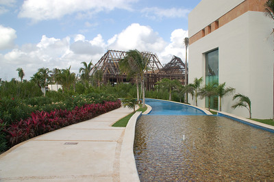 View of the private pool for Grand Mayan guests.