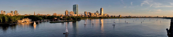 Boston; The Charles River Basin