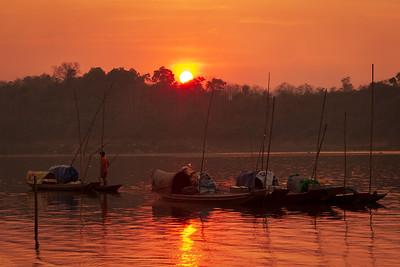 Mekong River Sunset IV, Luang Prabang
