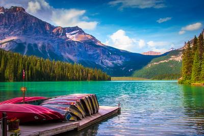 Emerald Lake II, Banff NP, Alberta, Canada, 2006