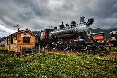 Garibaldi Rail Stop, Oregon, May, 2012