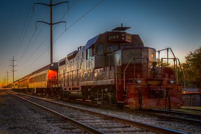 Grapevine Vintage railroad, Grapevine, TX, 2012