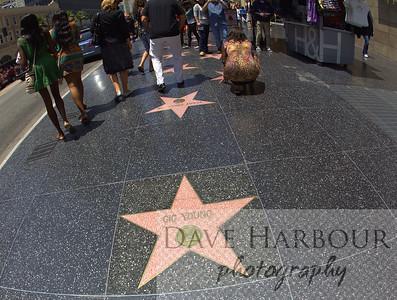 Hollywood Walk of Fame, girls