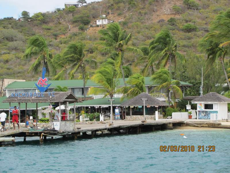 Anchorage Yacht Club on Union Island, the Grenadines