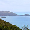 View from Ridge Road looking at Jost Van Dyke Island