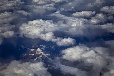 Above Eastern Nevada, USA.