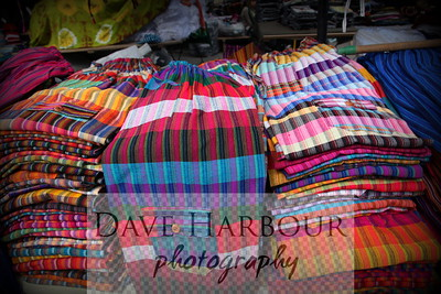 Business, Otavalo Market, colorful pants for sale