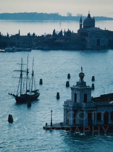 Canale della Giudecca, Venezia.