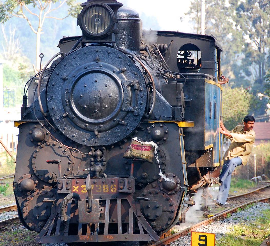 Nilagiri Railway, Ooty, India.
