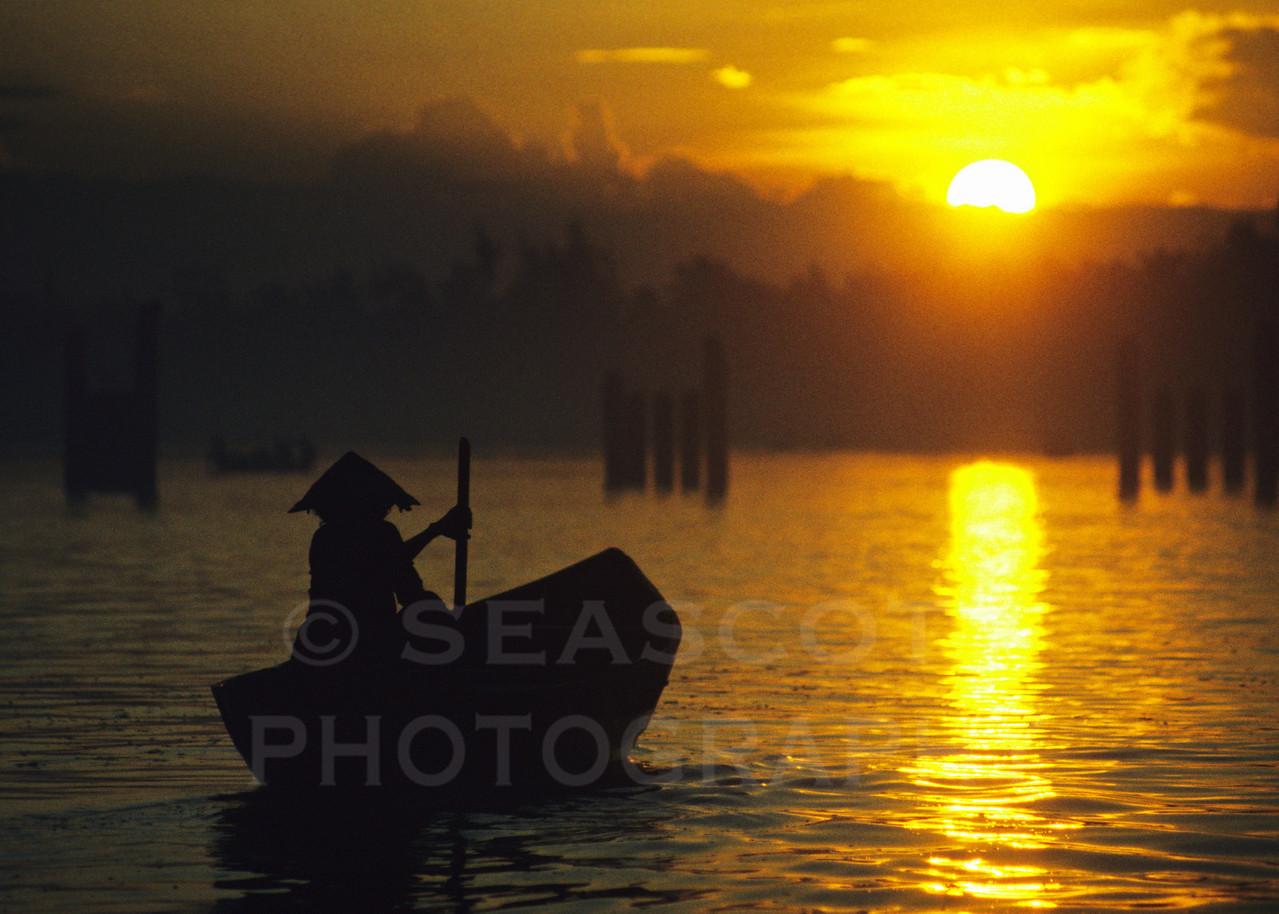 Sunrise.  Hoi An, Vietnam.