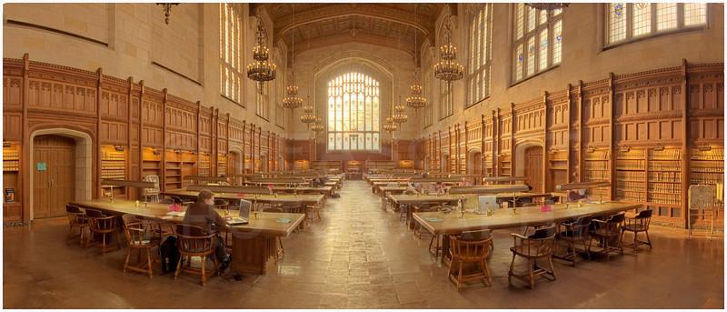University of Michigan, Law School Reading Room.