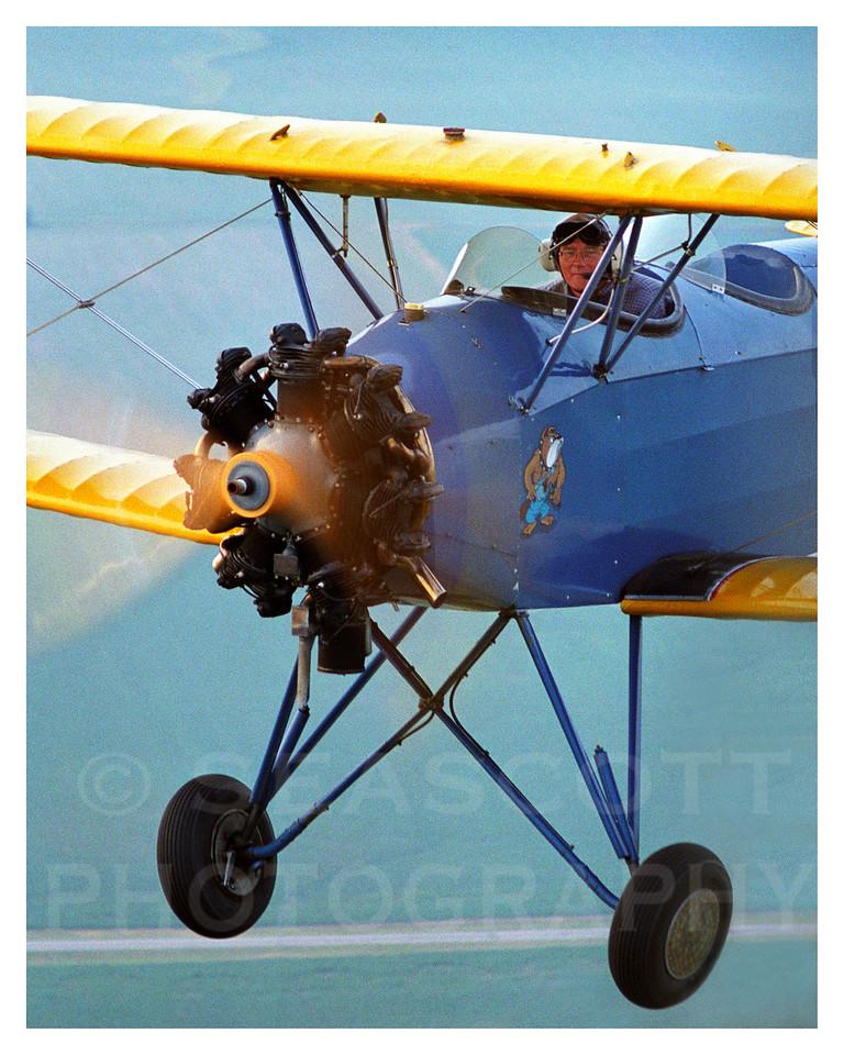 1947 Fleet Biplane, Naperville, Ill.