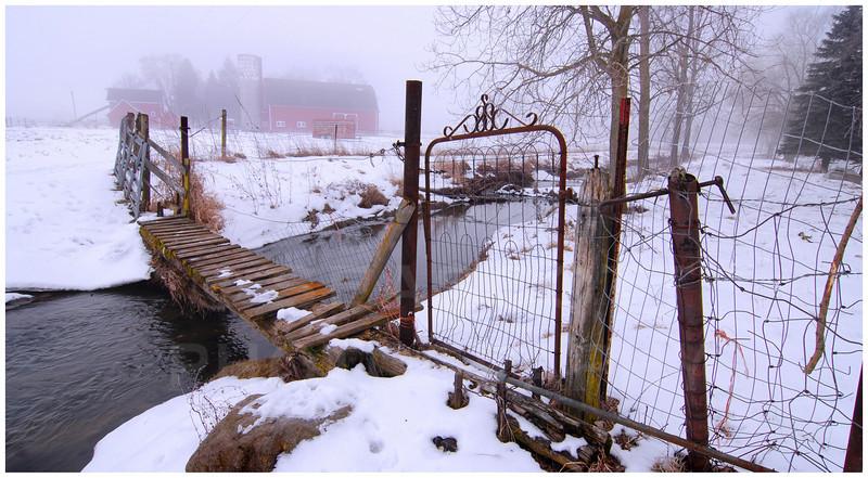 Staebler Farm, December '09.