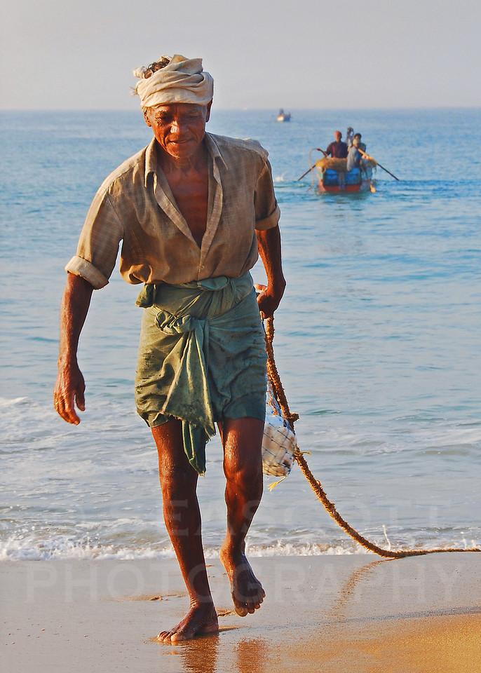 Fishing the Malabar Coast, India.