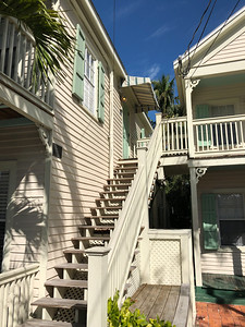 Our Key West apartment for a week